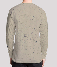 Shining armour men's printed henley back