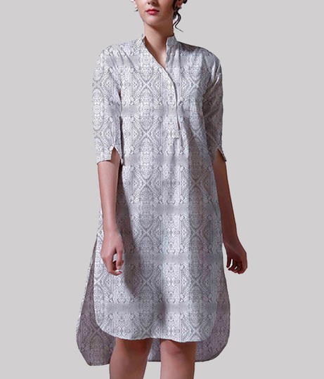 Buble bee kurta front recovgeagered