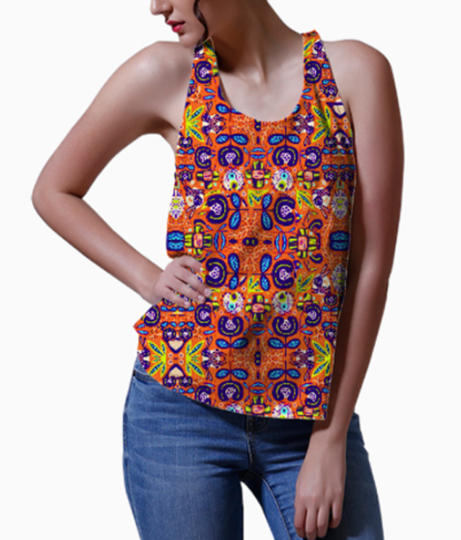Flying colors women's printed tank