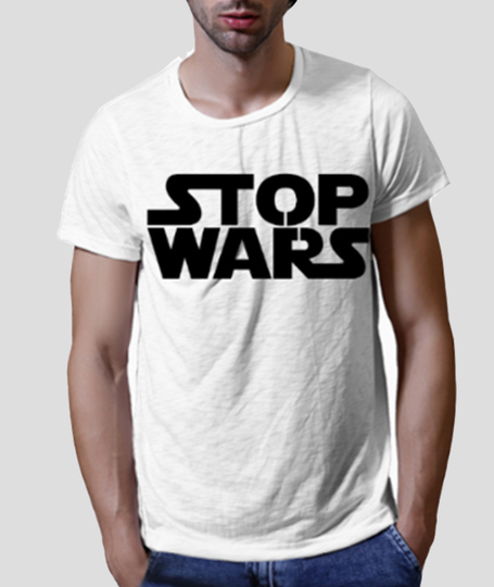 Stop wars close up