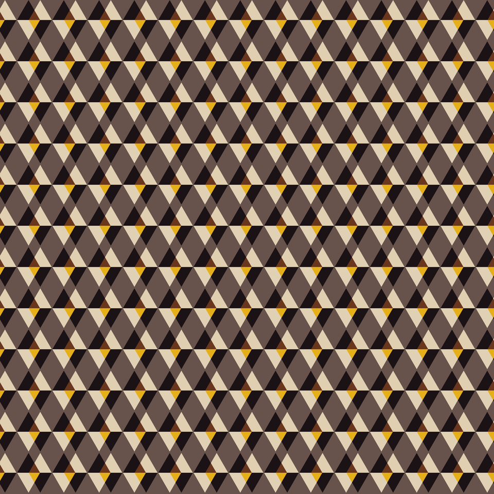 Brown with yellow tile background