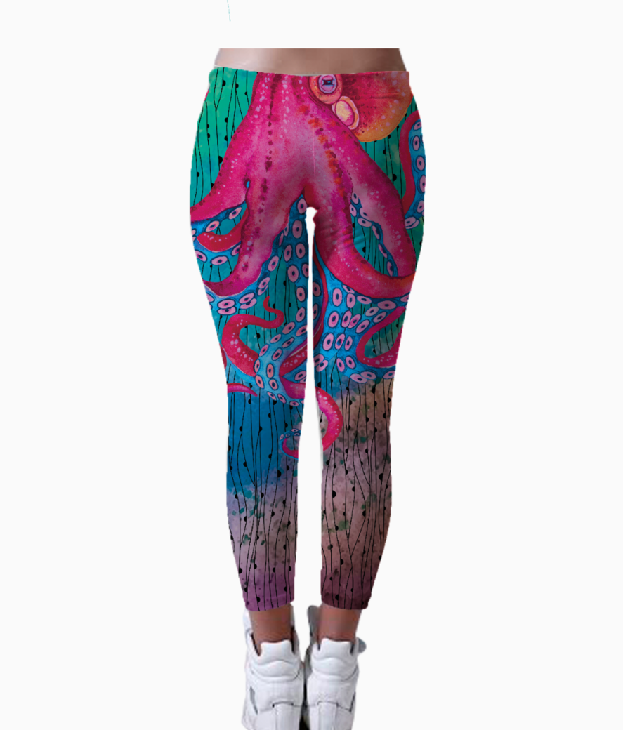 Octopop leggings back