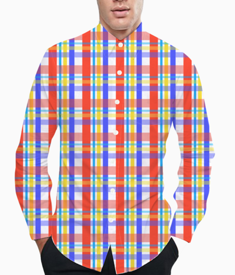 Checks ryb basic shirt front