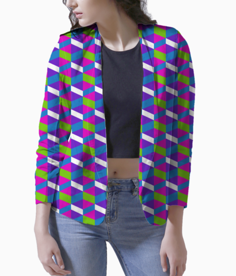Blocks women's blazer front