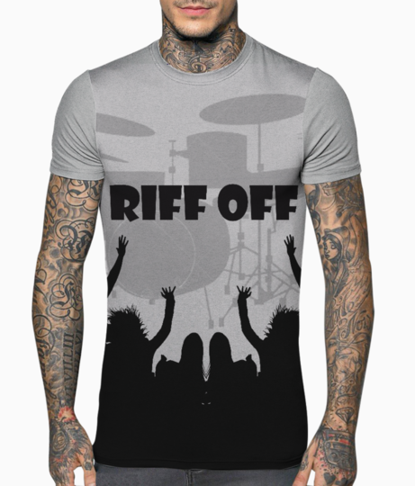 Riff off t shirt front