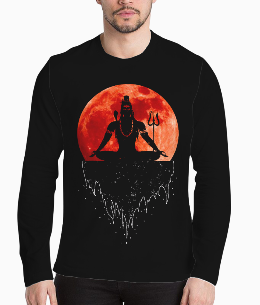 Lord shiva henley front