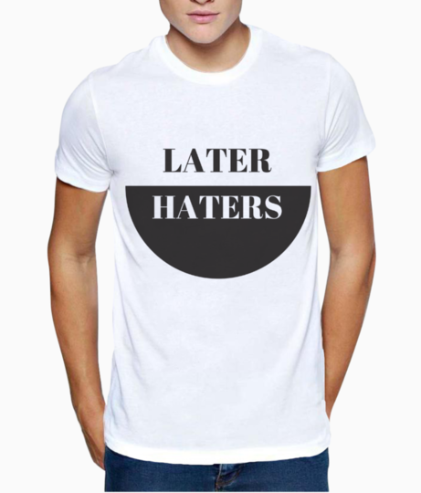 Later t shirt front