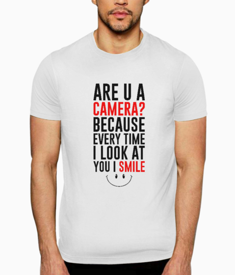 Are u a camera t shirt front