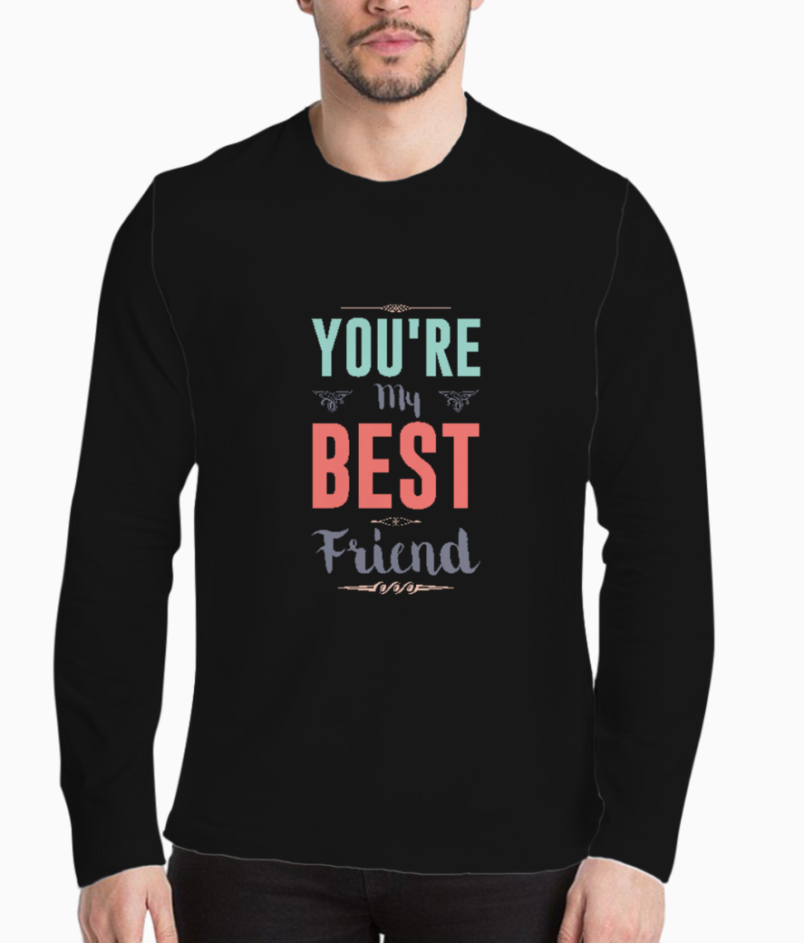 Youre my best friend henley front