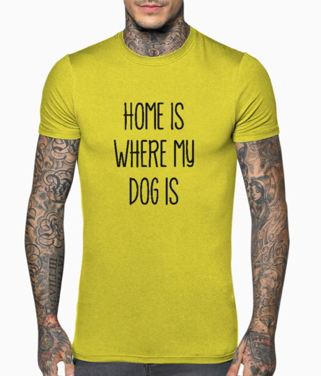 My dog is t shirt front