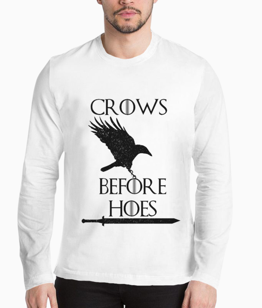 Crows before hoes henley front