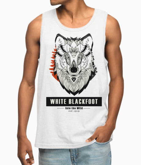 Wolf series vest front