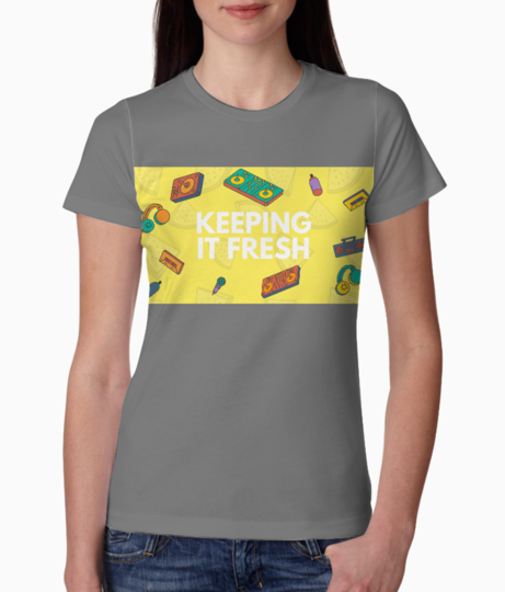 Keeping it fresh tee front