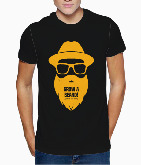 Beards are sexy t shirt front