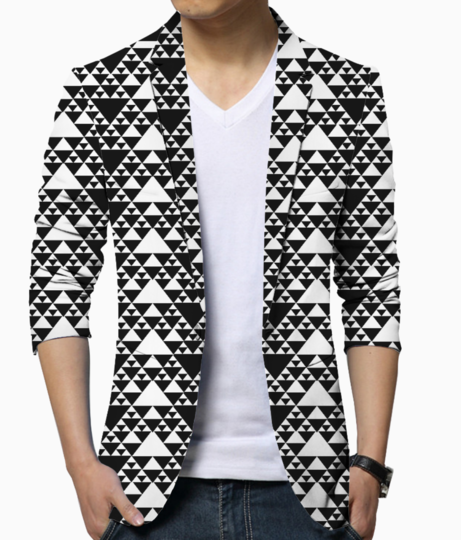 Arrow head blazer front