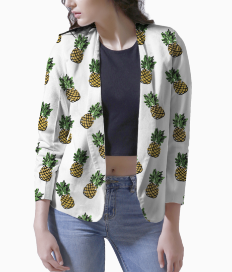 Pineapple blazer front