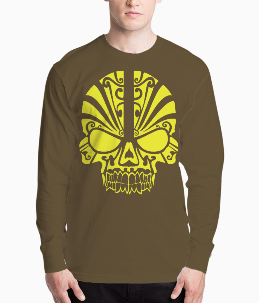 Tribal scull henley front