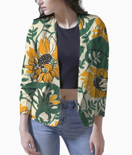 Sunflower blazer front