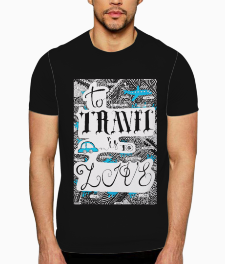 Travel t shirt front