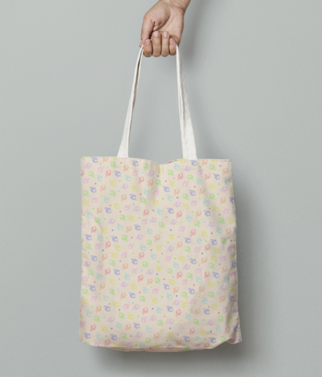 5 tote bag front