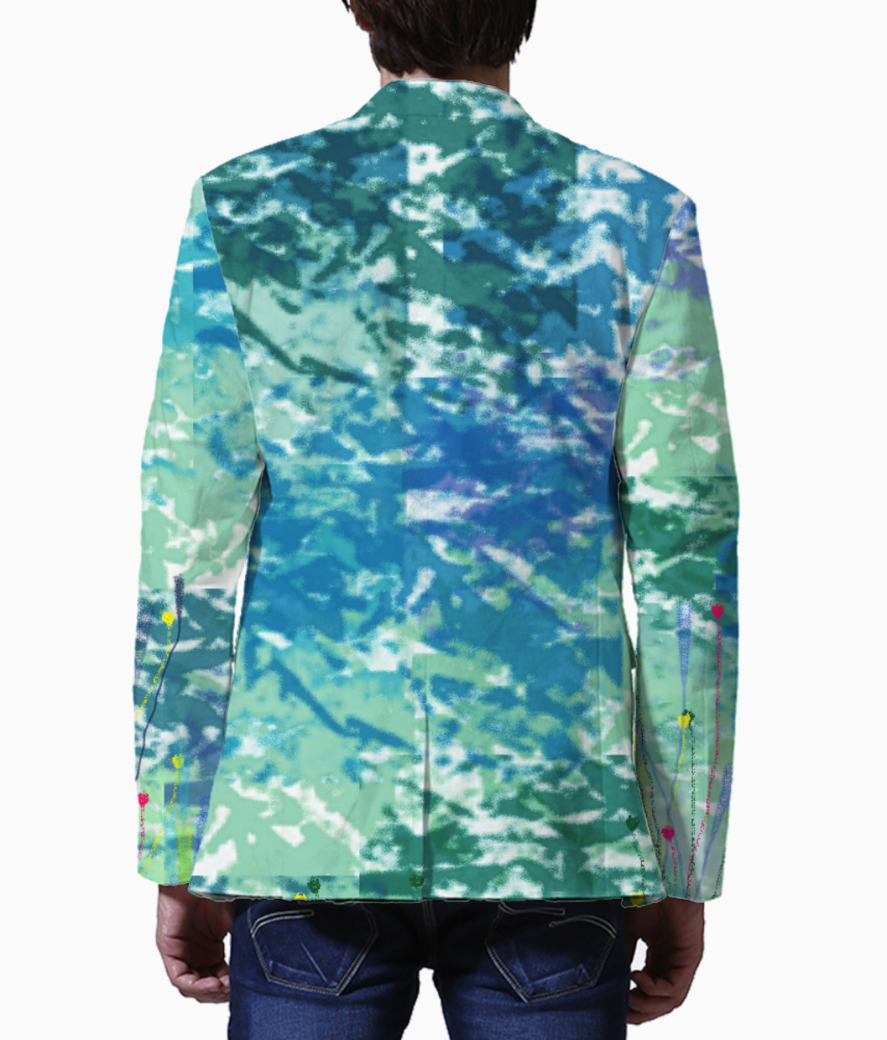 Untitled 1 blazer back