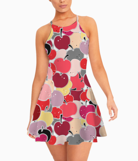 Applelicious summer dress front