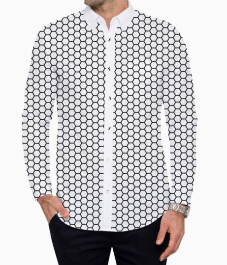 Absolutely free honeycomb mesh texture by deskleaves dacn5fv basic shirt front