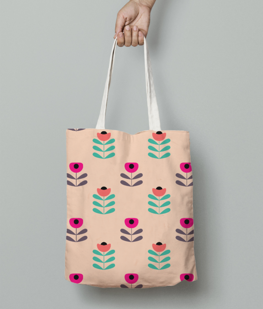 Applelicious tote bag front