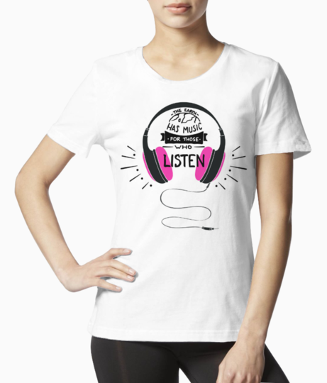 Girly tee front