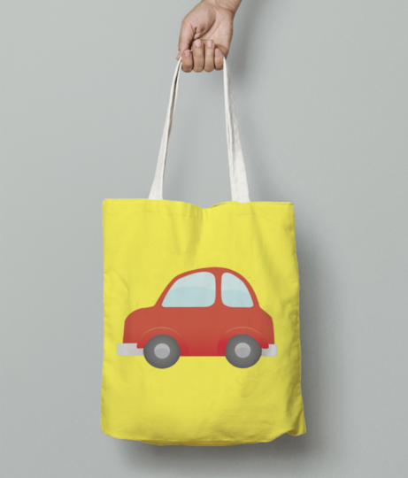 My car tote bag front