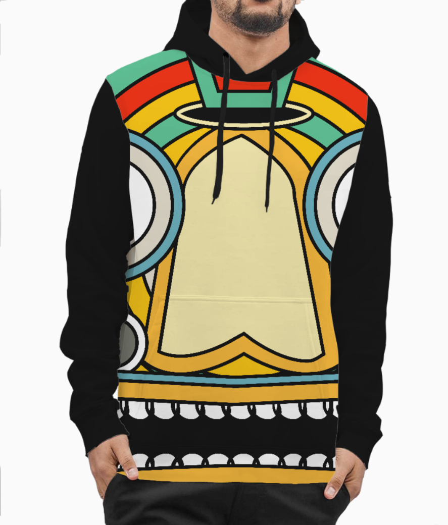 Indian tribal hoodie front