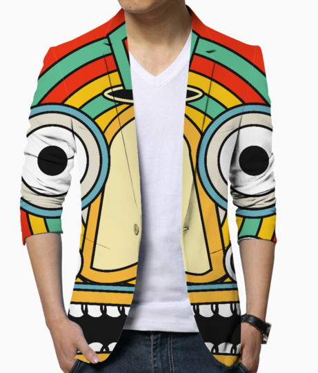 Indian tribal blazer front