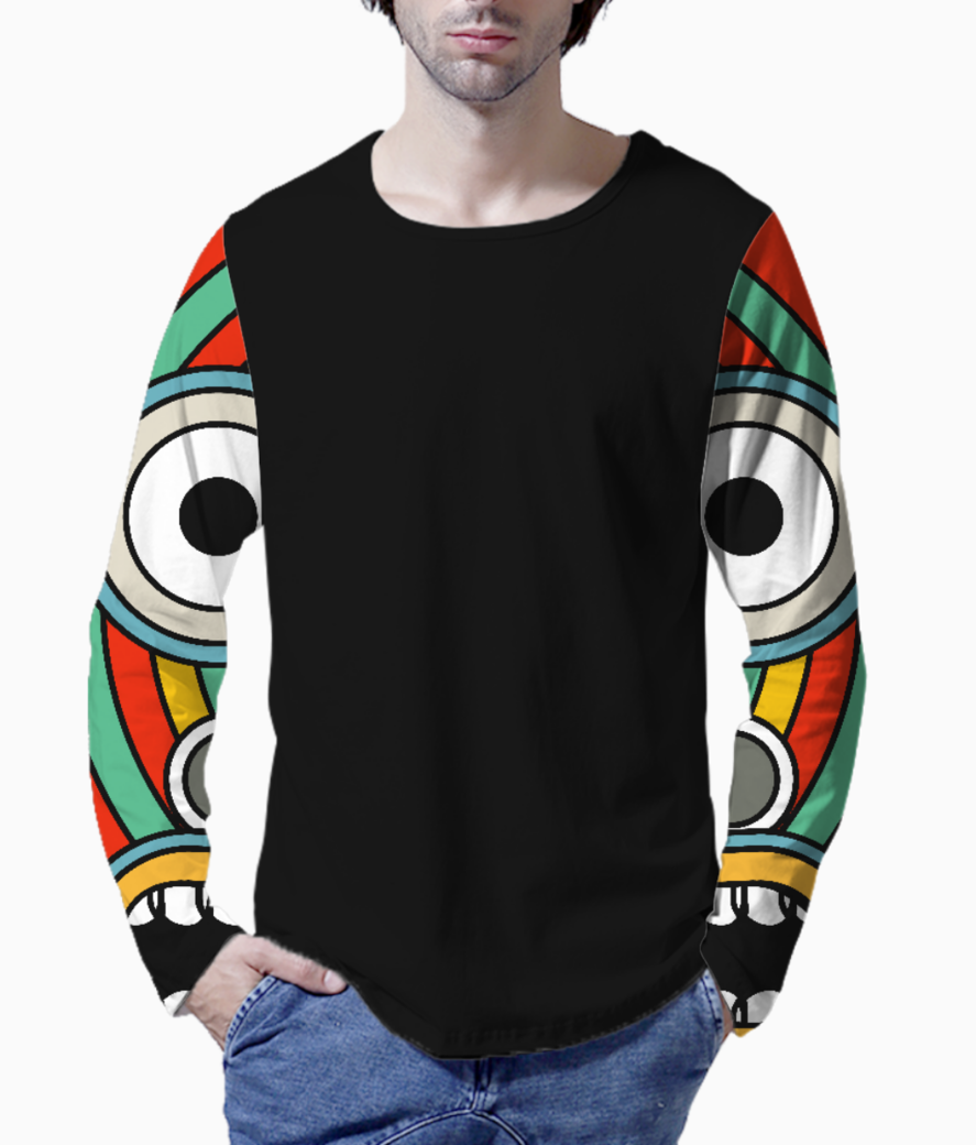 Indian tribal henley front