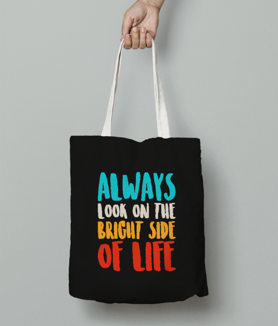 Always life tote bag front
