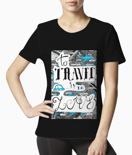 Travel tee front