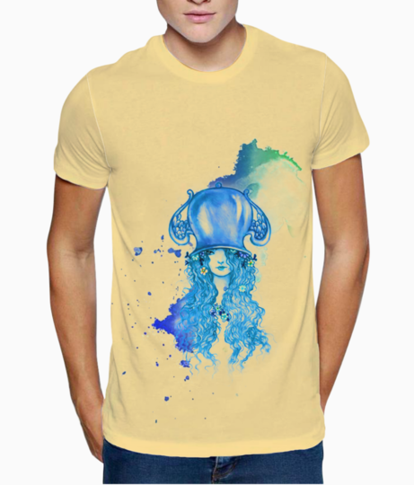 Aquarius t shirt front
