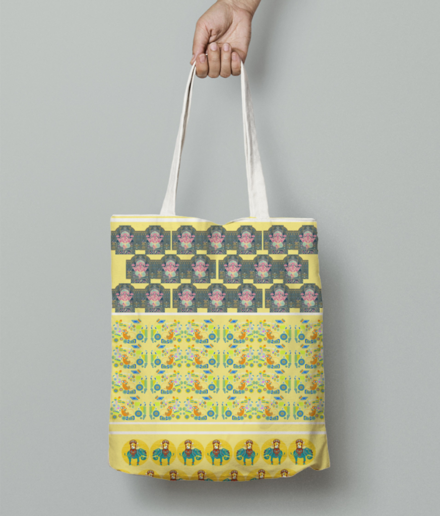 Design4 tote bag front