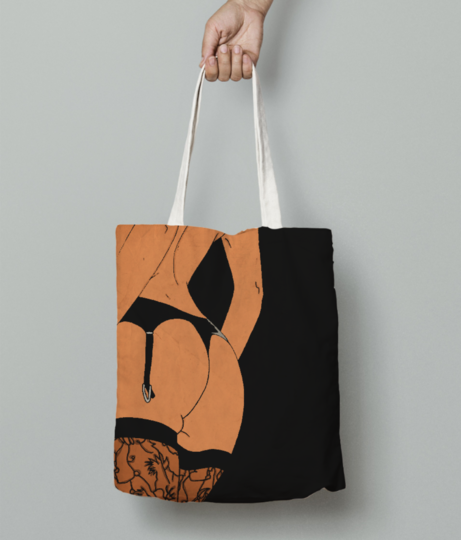 Assbitch tote bag front