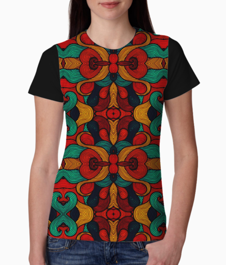 Psychedelic tee front