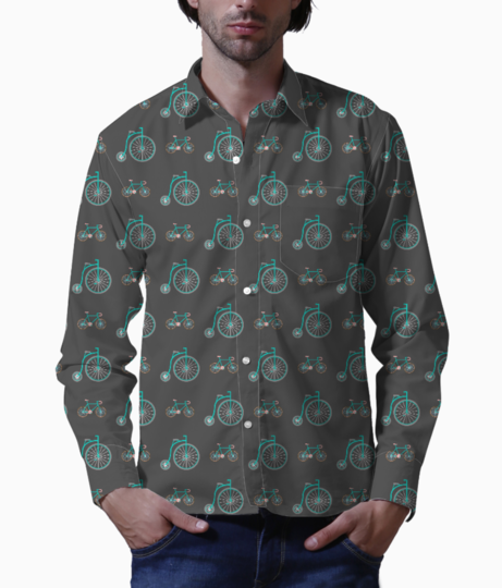 Kurta74 basic shirt front
