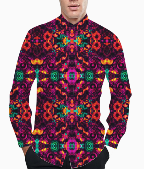 Abstraction basic shirt front