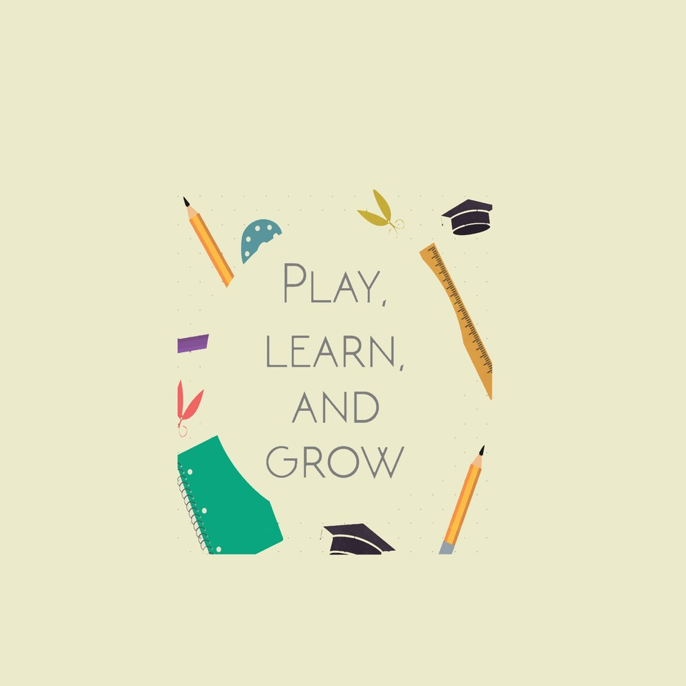 Play  learn   grow kurta