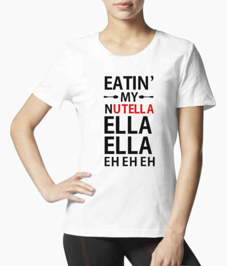 Nutella tee front