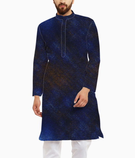 Noise rock kurta front