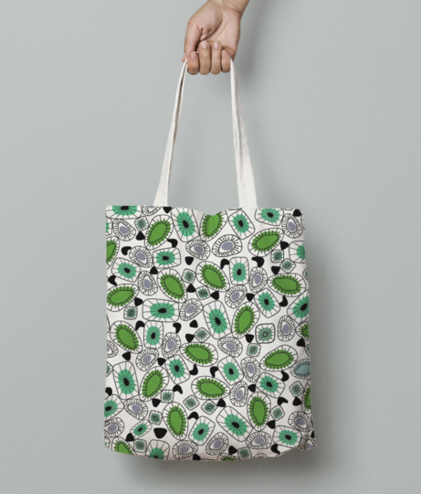 Oyester tote bag front