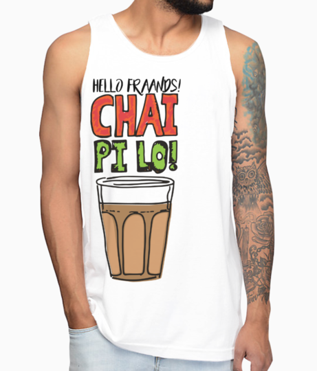 Black chaipilo re vest front