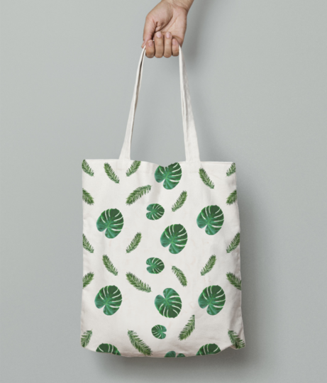 Ped tote bag front