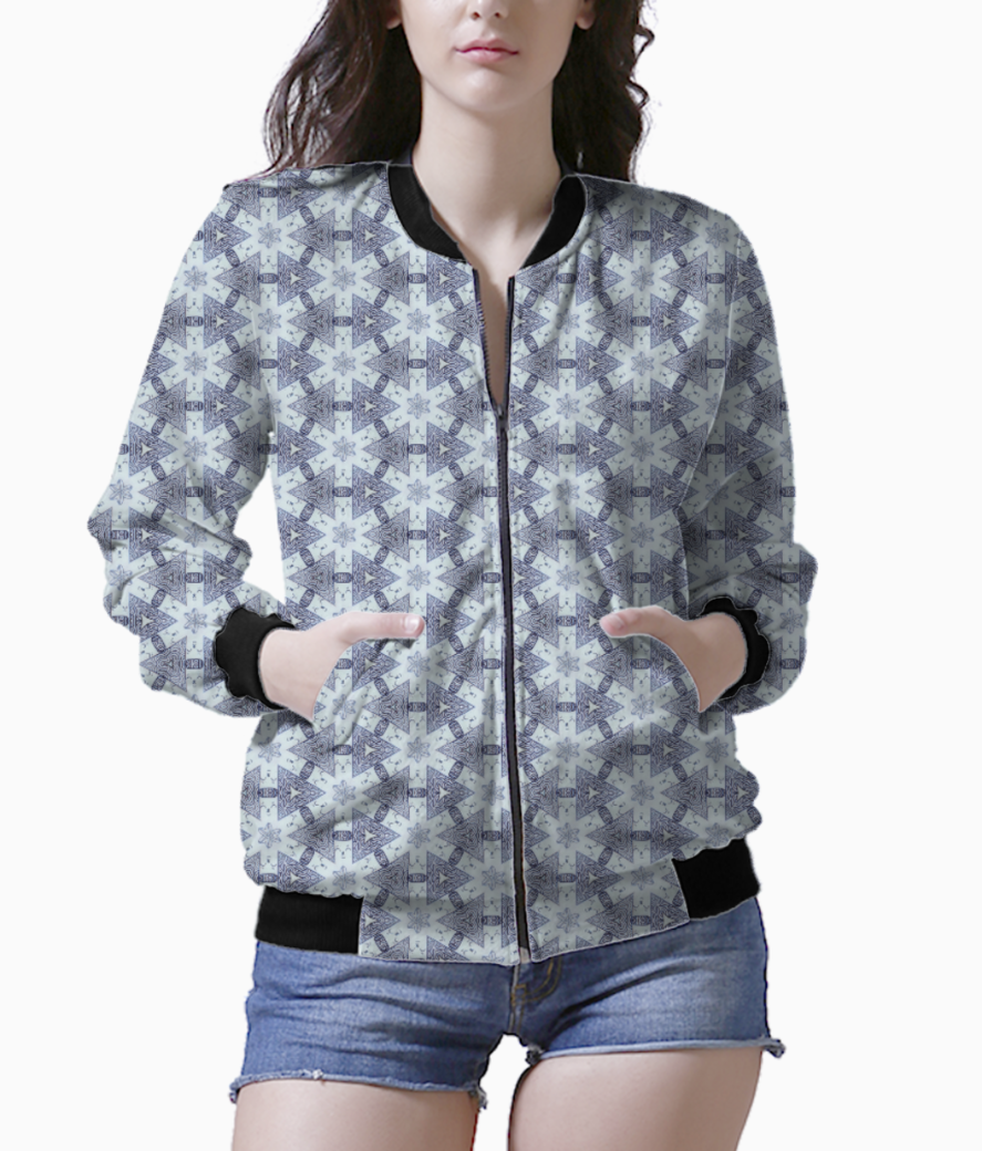 Coffe bean bomber front