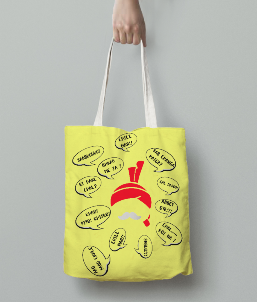 23 tote bag back