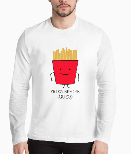 Fries before guys henley front